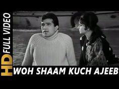 Woh Shaam Kuch Ajeeb Thi   Kishore Kumar   Khamoshi 1969 Songs   Waheeda Rehman, Rajesh Khanna - YouTube
