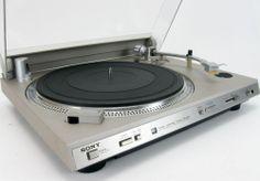 SONY PS-434 DIRECT DRIVE X-TAL LOCK TURNTABLE * NICE!