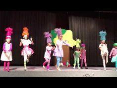 Trolls Dance School Talent Show Graduation Songs, Pre K Graduation, Kindergarten Graduation, Kids Talent Show Ideas, Troll, School Songs, Show Dance, Head Start, Toddler Activities