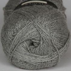 Highland Silk Winter Grey - Highland Silk - Isager garn