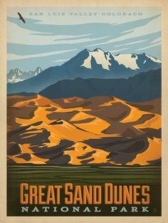 Anderson Design Group Studio, Great Sand Dunes National Park, Colorado