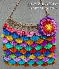 Free Crocodile Stitch Crochet Pattern   Free Pattern - Crochet Crocodile Stitch Purse