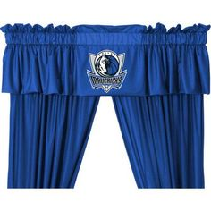NBA Mavericks Valance, Blue