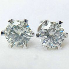 Ringjewels Mens /& Womens 0.29 Carat Blue Sapphire Stud Earrings In 14K Black Gold Plated 925 Silver