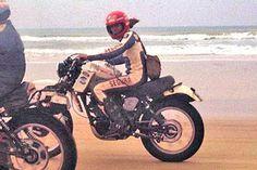 Dakar 1979 Yamaha XT 500 Enduro Motorcycle, Rally Raid, Old Paris, Classic Bikes, Motorbikes, Yamaha, Racing, Life List, Café Racers