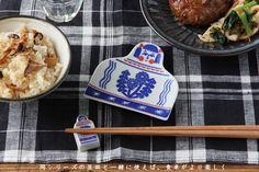 印判手箸置き こけし (倉敷意匠×kata kata) | 箸・カトラリー | cotogoto
