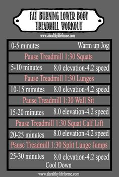 Fat Burning Lower Body Treadmill Workout with AHLFM #ExerciseTip #FitnessTip #TreadmillWorkout