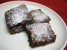 Allergen-Free Brownies [MILK, EGG, NUT, SOY and GLUTEN-FREE]