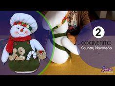 manualidades para navidad - como hacer patchword sin agujas - YouTube Christmas Stockings, Christmas Ornaments, Sewing Rooms, Ideas Para, Snowman, Diy And Crafts, Quilts, Holiday Decor, Holidays