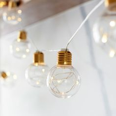 59e584ef9a2 4M LED Bulb string lights with 10 ball festoon lights Battery Operated  Fairy Lights for Christmas