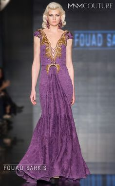 FOUAD SARKIS Style Number: 2206. Top half... Bottom ermmm belly button spewing fabric... Nope. No worky
