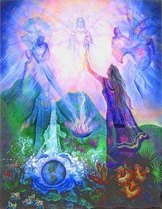 Heart of the World Healing Meditation ~ Helen White Wolf « The Luminous Garden Global Community Blog