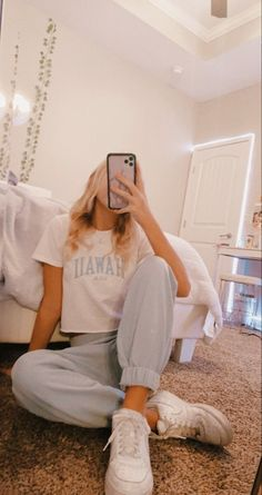 Comfy School Outfits, Cute Lazy Outfits, Trendy Summer Outfits, Stylish Outfits, Casual Comfy Outfits, Outfits For School Summer, Lazy School Outfit, Back To School Outfits For Teens, Casual Summer