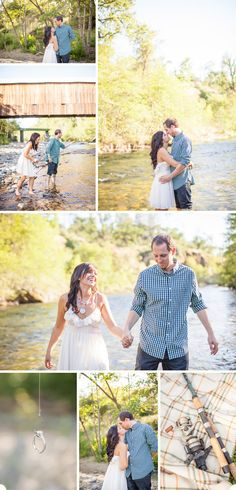 great catch engagement session. Kev could get into this one! River, Ring Photo Inspiration