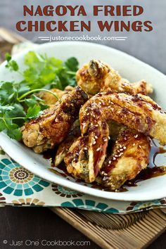 Nagoya Style Fried Chicken Wings | Easy Japanese Recipes at JustOneCookbook.com