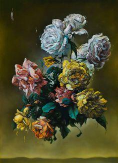'Everyone Sang' (2014) by Glenn Brown