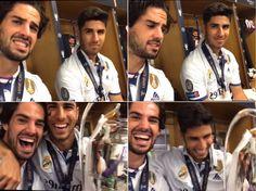 Isco and Asensio for la Duodecima  Real madrid