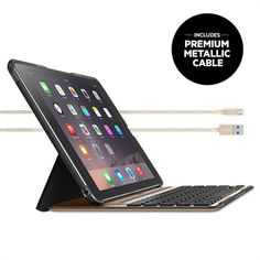 Learn about and buy the QODE™ Ultimate Pro iPad Air 2 Keyboard Case by Belkin. Backlit keys. Full coverage protection of a case. Conveniently detaches.