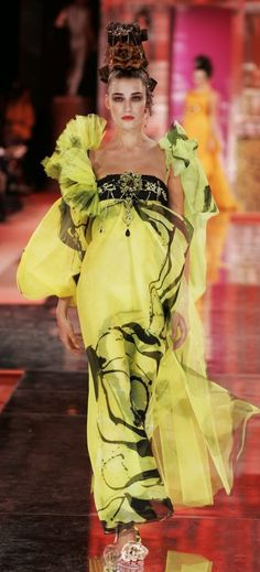 2005 Christian Lacroix Haute Couture Spring-Summer | The House of Beccaria#