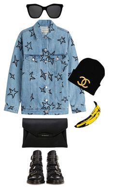 """""""Senza titolo #54"""" by carmendilauro-1 on Polyvore featuring Andy Warhol, Être Cécile e Givenchy"""