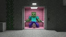minecraft animated GIF