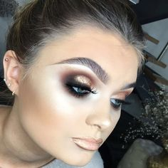 "9,076 Likes, 81 Comments - Plouise Makeup Academy (@plouise_makeup_academy) on Instagram: ""Smokey •Brows: Spiked @maccosmetics •Eyes: Nylon @maccosmetics Brown Script @maccosmetics Razin…"""