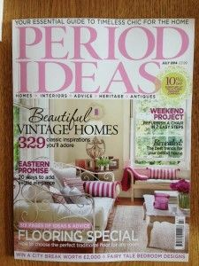 The Kitchen Dresser Company Studio Collection features in July 2014 issue of Period Ideas