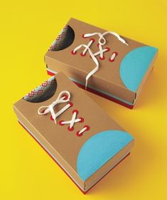 DIY Cardboard Shoes