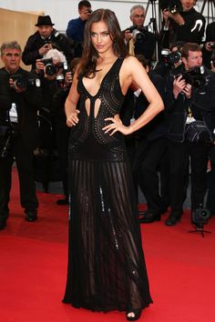 Irina Shayk is Sexy in Roberto Cavalli at the All is Lost Cannes Premiere | Fashion Gone Rogue: The Latest in Editorials and Campaigns