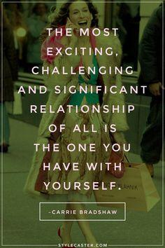 Carrie bradshaw als inspiratiebron inclusief haar mooie quotes : Fashion, lifestyle, writing Schrijfster SJP Sarah Jessica Parker Sex and the city