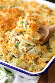 Tuna Casserole Recipe With Egg Noodles.The Best Tuna Casserole Recipe Tuna Noodle Casserole. Classic Tuna Noodle Casserole Recipe Chicken Of The Sea. Tuna Casserole Recipes, Casserole Dishes, Tuna Casserole Healthy, Tuna Caserole, Canned Tuna Recipes, Recipes With Egg Noodles And Tuna, Tuna, Al Dente, Seafood