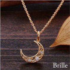 Rakuten: Necklace Cem Kelly antique moon necklace pendant bra yl -necklace-- Shopping Japanese products from Japan