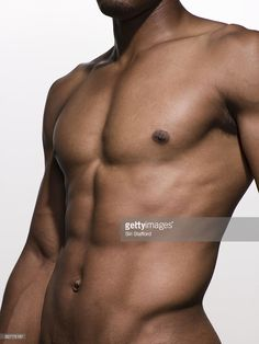 Photo : Gros plan du Torse musclé homme