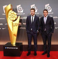 Los jugadores del Atlético de Madrid Gabi y Koke