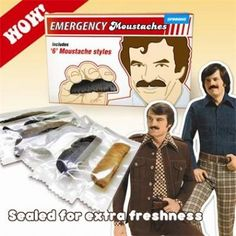 Moustache-set 'Emergency'