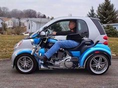 How to make Smart car look cool