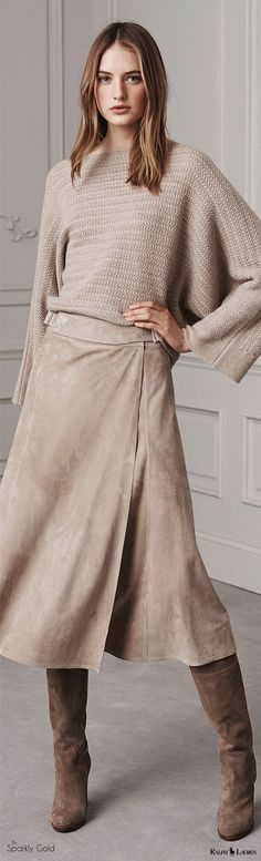 Ralph Lauren Pre Fall 2016 women fashion outfit clothing style apparel @roressclothes closet ideas