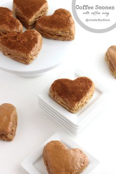Coffee Scones with Coffee Icing @createdbydiane