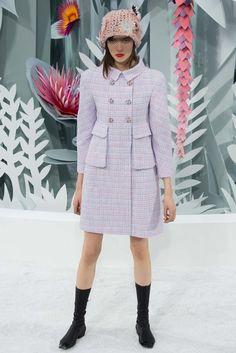 Chanel Spring 2015 Couture Fashion Show - Grace Hartzel (Next)