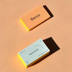 Becca brand identity by lmnopcreative Logo Design, Stationery Design, Graphic Design Typography, Identity Design, Brand Identity, Cafe Design, Self Branding, Business Branding, Business Card Design