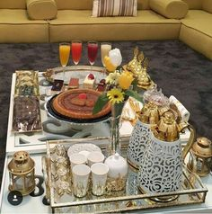 House Structure Design, Ramadan Decorations, Table Decorations, Photo Table, Libyan Food, Arabian Decor, Teen Boy Rooms, Vegan Teas, Icebox Cake Recipes