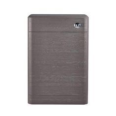 Monza 550mm Wide WC Unit (Stone Grey Woodgrain - Depth 200mm)