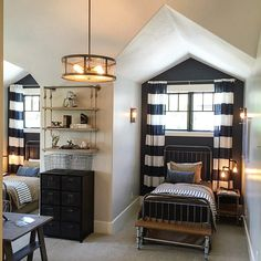 """@luckyblogs's photo: """"Sharing a room plus a bit of privacy. #UVparade #paradeofhomes #29 #ebuildershomes #bedroom"""""""