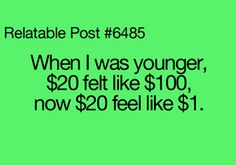 No kidding.   I got a big bag of candy for a nickel and went to the movies for 15 cents.  (I'm 59 years old)