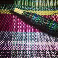 hawthorne yarn from knitpicks is so pretty! #homeinthstudio  @hellopidgepidge on instagram