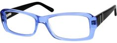 6600 Acetate Full-Rim Frame With Spring Hinges