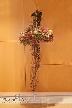 Andreea Stor , Floristiq Art Sculpture Art, Floral Arrangements, Contemporary, Floral Designs, Artist, Flowers, Plants, Designers, Handmade