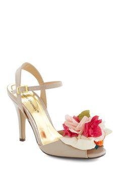 Dance Around the Bloom Heel