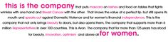 Avon.....the company for women and a few good men!  use code: sandyzanko