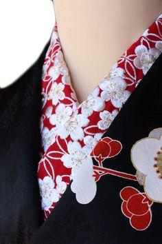 【楽天市場】半襟 刺繍半襟 振袖用 赤 成人式 卒業式 半衿 振袖用 訪問着用 金糸 七宝梅宝尽くし文 婚礼衣装用 礼装用「衿秀」刺繍半衿 洗える ポリエステル ししゅう半衿:きもの 和<なごみ>
